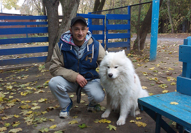 Евгений – кинолог Школы Умный пёс
